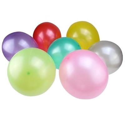 (20 Stück), große Mischung 30.48 cm, rund, mit Perlen, für Geburtstag, Luftballons, Hochzeitsdekoration Farbe wird zufällig Schiff von AGPtek auf Gartenmöbel von Du und Dein Garten
