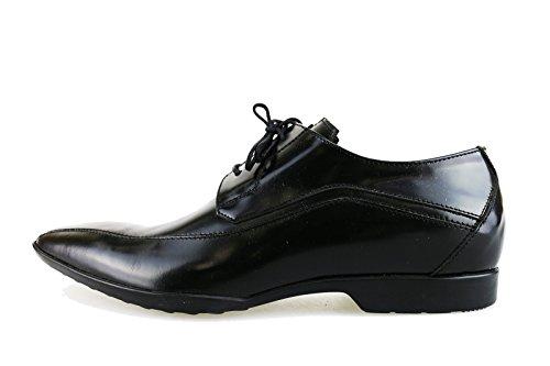 CARLO PIGNATELLI classiche uomo 40 EU nero pelle AG33