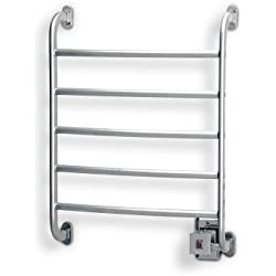 Warmrails HSRC Regent 25.25-Inch Wall Mounted Towel Warmer, Chrome Finish