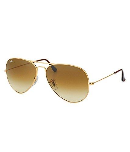 Ray-Ban RB3025 001/51 Medium Size 58 Aviator Sunglasses - B01CE8RTAE
