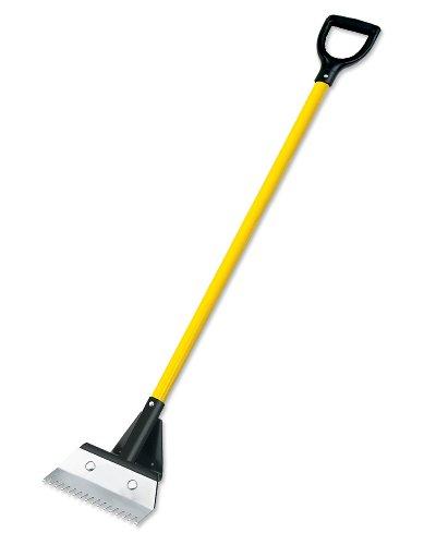 Bully Tools 91110 ProShingle Roofing Shingle Remover / Shovel - D-grip (fiberglass)