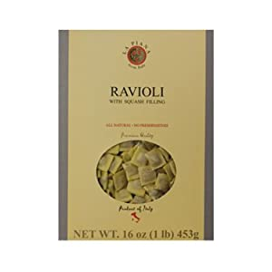 La Piana Ravioli with Squash Filling, 1 Pound