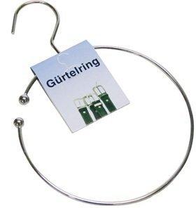 Jean products 1 x cintura anello, cravatte supporto con gancio per armadio, Ø 14 cm