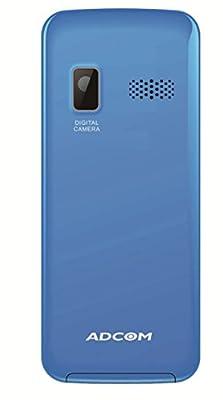 ADCOM Aqua 121 dual sim mobile phone_ Black & Blue