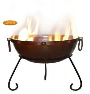Gardeco Rustic Steel Fire Bowl Rusticfb40 from GreatGardensOnline