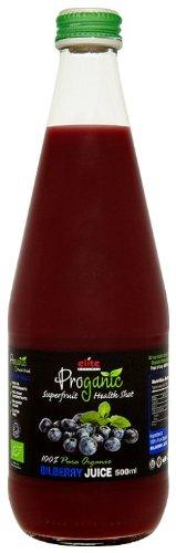 Prognaic Organic Bilberry Juice 500 ml (Pack of 3)