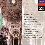 echange, troc  - Mozart : Requiem - Messe du couronnement - Exsultate, Jubilate, K165 (Coffret 2 CD)