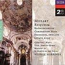 Mozart : Requiem - Messe du couronnement - Exsultate, Jubilate, K165 (Coffret 2 CD)