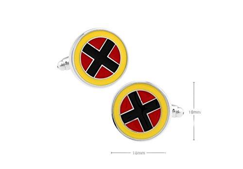 Blue-Heron-Marvel-Comics-X-Men-Logo-Groomsman-Wedding-Gift-Mens-Boys-Cufflinks-with-Gift-Box