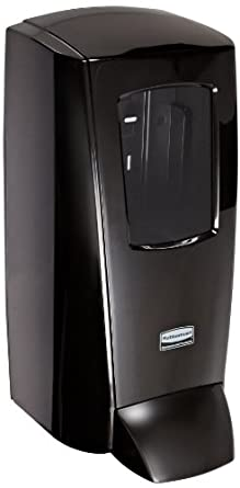 Rubbermaid Commercial 1780888 ProRx Industrial Wall-Mounted Skin Care Dispenser, 5-liter, Black