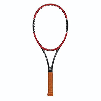 Wilson Pro Staff RF97 Autograph Tennis Racquet, 4 3/8-Inch, 4 3/8-Inch/Red/Black