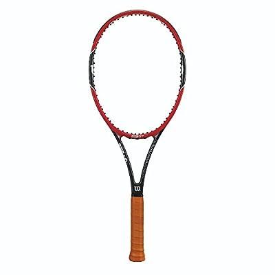 Wilson Pro Staff RF97 Autograph Tennis Racquet, 4 3/8-Inch, 4 3/8-Inch/Red/Black
