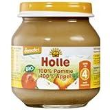 Holle Compote de Pommes Bio 125 g
