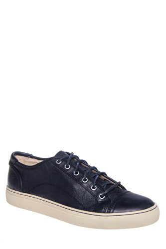 Frye Men's Justin Low Top Leather Sneaker