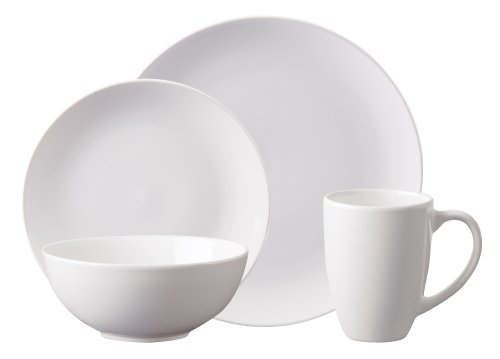 Gibson Simpliss 16-Piece Stoneware Dinnerware Set White Review  sc 1 st  Cheap Dinnerware Sets & Cheap Dinnerware Sets: Gibson Simpliss 16-Piece Stoneware Dinnerware ...