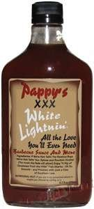 Hot Sauce Depot 60233030 Pappys XXX White Lightni BBQ Sauce, 12.7oz - Pack of 3