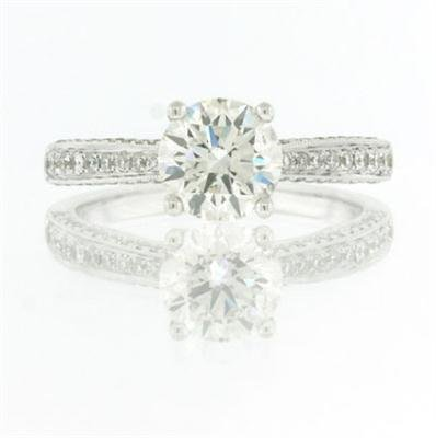 1.85ct Round Brilliant Cut Diamond Engagement