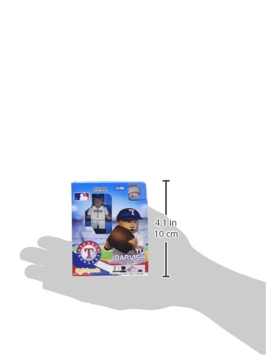 MLB Texas Rangers Yu Darvish Generation 4 Mini Figure, Small, Black