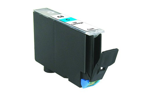 Inkadoo® Tinte passend für Canon Pixma IP 6700 D ersetzt Canon C8 , C8C , CLI-8C / PI100-66 , PI1006600313238 , 0621B001 , 313238 - Premium Drucker-Patrone Kompatibel - Cyan - 1.165 Seiten - 14 ml