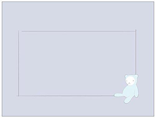 Vistaprint Blue Birth Announcement A-2 Envelopes (5.75X4.33) front-1039508