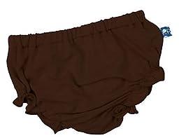 KicKee Pants Bloomer, Bark, -3 Months