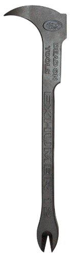 Dead On EX12  12-5/8-Inch Exhumer Nail Puller/Saw Wrench/Nail Pic/ Bottle Opener