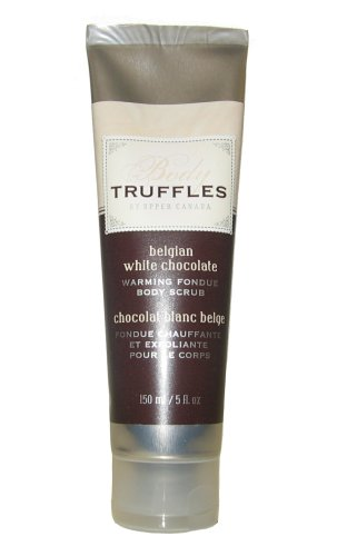 Body Truffles Belgian White Chocolate Warming Fondue Body Scrub - A Sensual Delight!