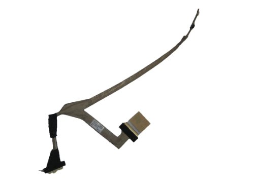 Lotfancy New Lcd Screen Video Flex Cable For Laptop Notebook Dell Inspiron Mini 10 (1010) Series ; Compatible Part Numbers Dc02000P700 T466N 0T466N Lcd Kiu10 Lvds Cable ...