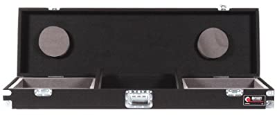 Odyssey CDJ19P Carpeted Dj Coffin With Recessed Latches For A 19 Mixer And 2 Turntables In Standard Position