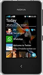 Nokia Asha 500 (Dual SIM, Black)