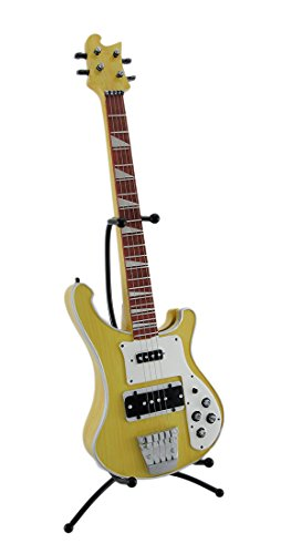 Electric Bass Guitar Coin Bank Piggy Bank w/Stand - 1
