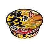 マルちゃん 黒い豚カレーうどん ケース(87g×12個入)