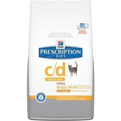 Hill's Prescription Diet c/d Multicare Bladder Health Dry Cat Food w/ Chicken 8.5 lbs
