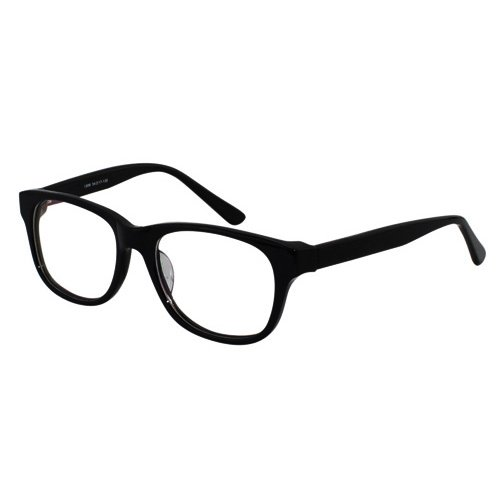 EyeBuyExpress Classic Black Retro Style Reading Glasses Magnification Strength 2