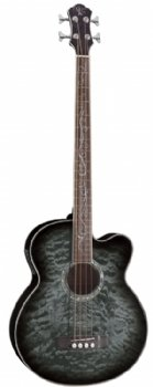 Michael Kelly Dragonfly 4 String Acoustic Bass, Smoke Burst