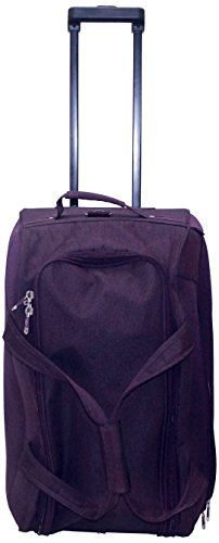 Princeware Princeware Russel Polyester 51 Cms Purple Travel Duffle (6960) (Violet)