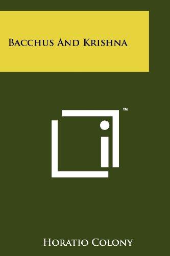 Bacchus and Krishna