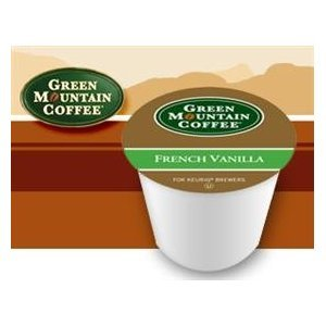 Green Mountain French Vanilla Flavored Coffee 1 Box Of 24 K-Cups