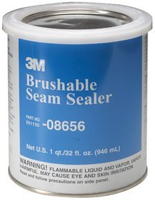 3M 08656 Brushable Seam Sealer - 1 Quart