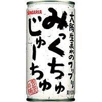 株式会社日本サンガリアベバレッジカンパニー サンガリア みっくちゅじゅーちゅ 190g缶 ×30個
