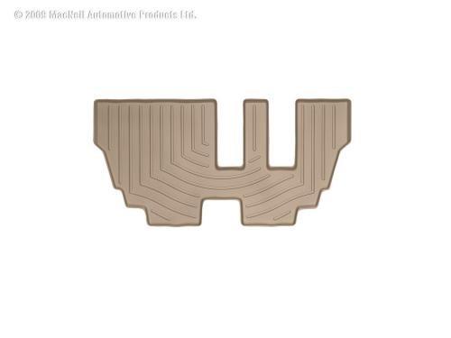 Weathertech Custom Fit Third Row Floorliner For Bmw X5, Tan