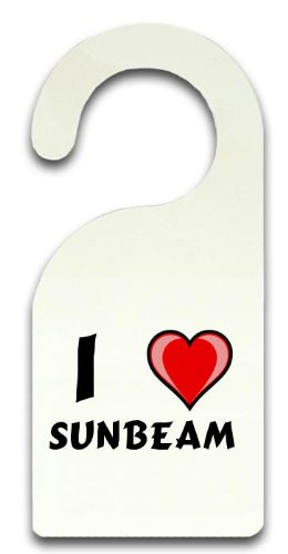 personalised-door-hanger-sign-with-text-sunbeam-first-name-surname-nickname