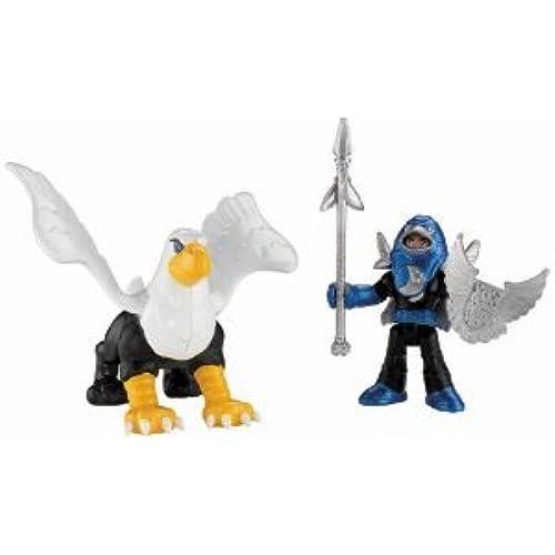 Fisher-Price (휘셔 프라이스) Imaginext Knight & Phoenix 피규어 장난감 인형 (병행수입)-