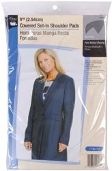 "Dritz - 1"" Covered Set - In Shoulder Pads - 2/Pkg"