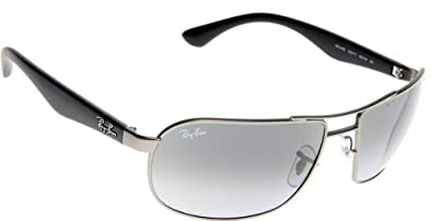 Ray-Ban RB3492 Highstreet Designer Sunglasses - Matte Gunmetal/Crystal Gradient Gray / One Size Fits All