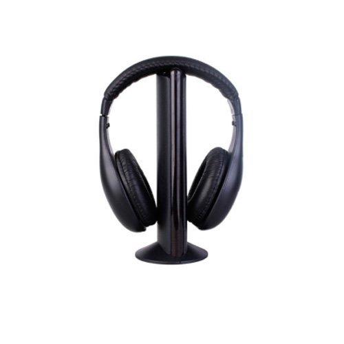 5 In 1 Wireless Earphone Headphone For Mp3 Pc Tv