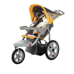 316EKMi5tGL InStep Grand Safari Swivel Wheel Jogger, Gray/Yellow with Mini Tool Box (fs) | Review