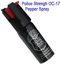 4 Oz Ounce Magnum Red Pepper Spray w/ UV Dye