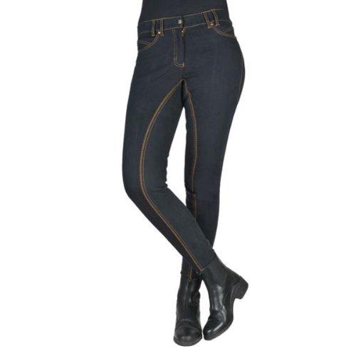 Jeans-Reithose Flash, Vollbesatz aus Alos, HKM