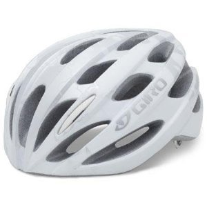 Giro Trinity Bicycle Helmet White/Silver Modernist